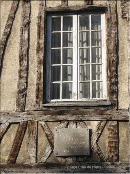 Rue Eau de Robec - Maison Jules Adeline