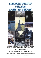 Affiche Expo Concours Photo