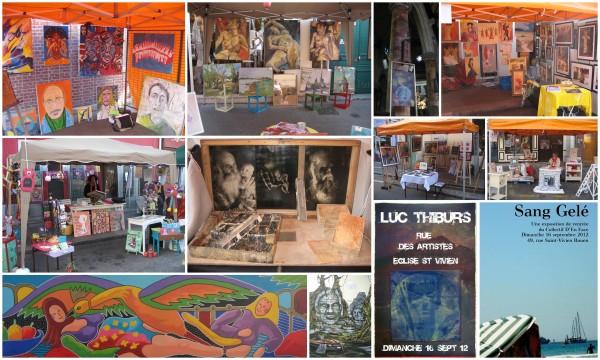 Montage Rue Des Artistes 2012
