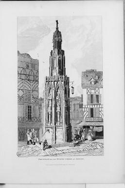 Croix de Pierre vers 1822