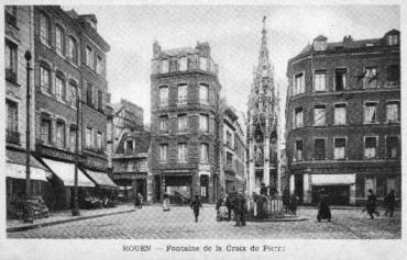 Croix de Pierre avant 1900