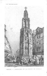 Croix de Pierre vers 1600