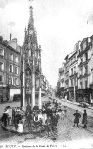 Croix de Pierre vers 1900