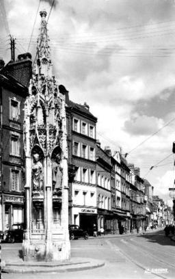 Croix de Pierre vers 1950