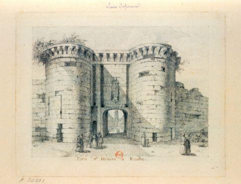 Porte St-Hilaire 18eme