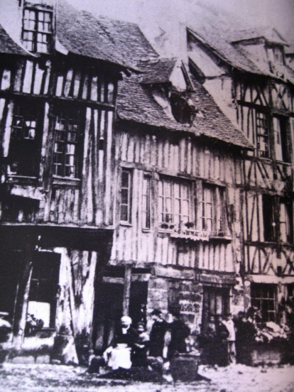Rue du Dr Blanche - Ancienne rue de la Maresquerie