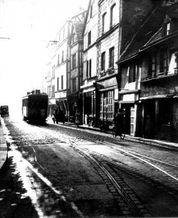 Rue St Hilaire 1953