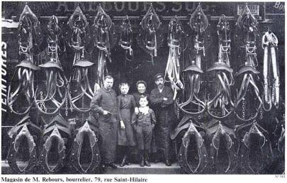 Rue Saint Hilaire, 79-Histoire de Rouen Tome 2- 1900-1939 en 800 photographies-Guy Pessiot