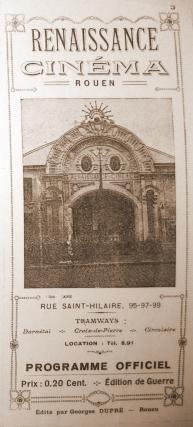 Cinéma Le Renaissance - Programme
