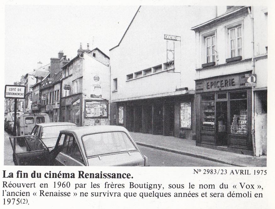 Cinéma Le Vox 23 Avril 1975