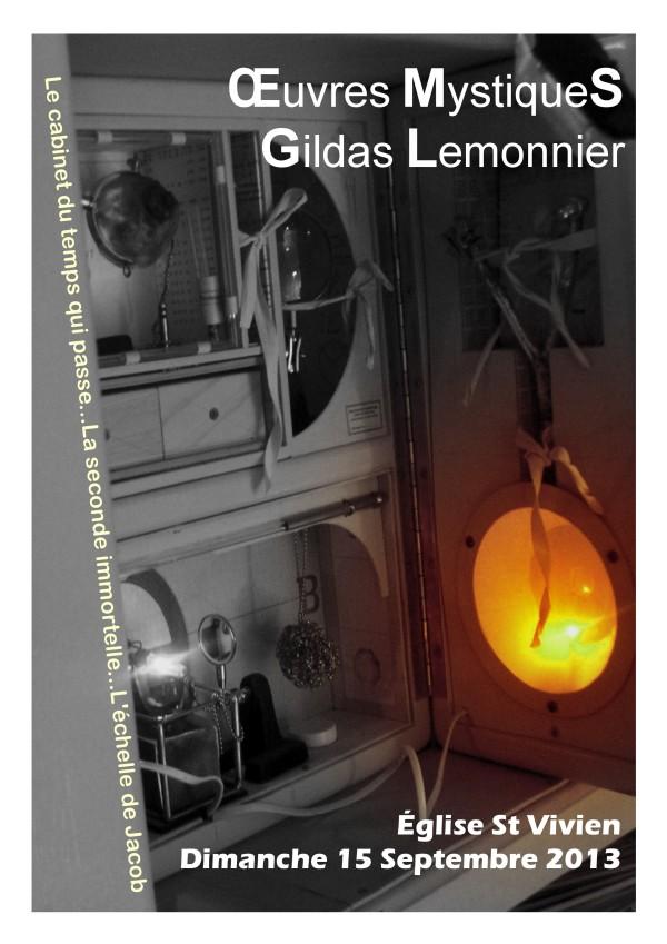 Oeuvres Mystiques - Gildas Lemonnie