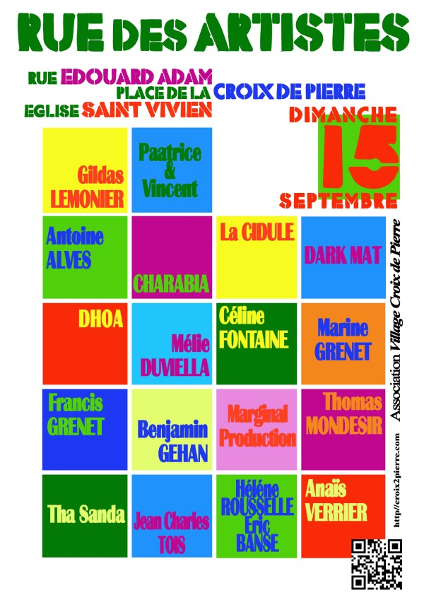 Rue Des Artistes 2013