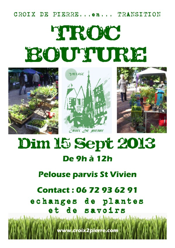 Troc Bouture - 15 Sept 2013