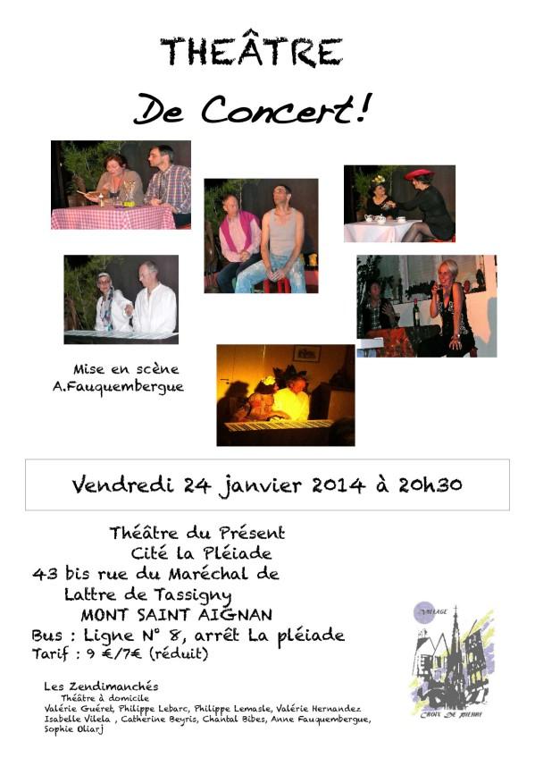 affiche 24 janvier 2014