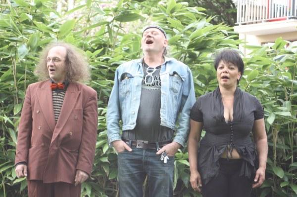 Pot musical au Square Halbout avec Marita, Dominique Bonafini et Gul de Boa