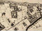 Extrait Carte Rouen 1655