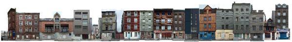 rue Orbe avec maison solaire