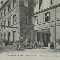 Rue de Germont - Entrée Hoptal